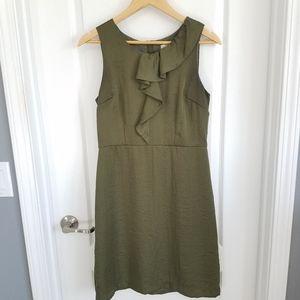 LOFT Green Cocktail Dress - size 6